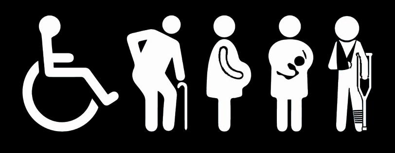 places embarassades adaptades pàrquing