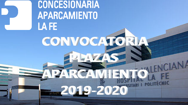 CONVOCATÒRIA PLACES D'APARCAMENT 2019-2020